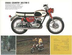 YAMAHA Brochure YDS5 YDS3 YDS3C YCS1 CS1 YA6 YJ2 1967 1968 1966 Catalog REPRO