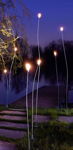 Lampadaire d exterieur mini mini cuivre h100cm led zava normal  http://www.justleds.co.za