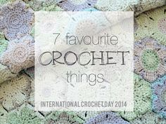 Celebrating International Crochet Day 2014 | blog post by Homelea Lass
