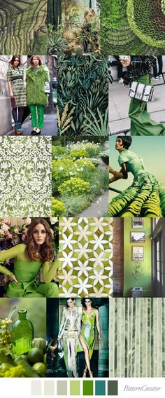 La tendencia de color GREENERY 2017 en acción, VERDE QUE TE QUIERO VERDE #coolhunting #tendencias #color