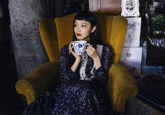yuka mannami Vintage Outfits, Vintage Fashion, Vintage Style, Honey And Clover, Fashion Art, Womens Fashion, Photography Editing, Style Icons, High Neck Dress