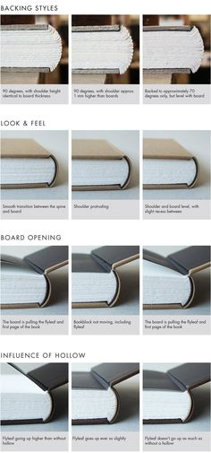A style of hardback binding less ordinary The concept of case binding, meaning that the cover is made off the text-block and attached to it at a later stage, is #BooksBinding