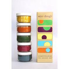 Eco-Dough. All natural pre-made play dough.