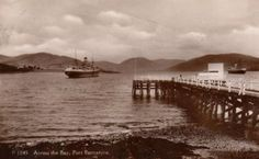 Port Bannatyne Pier. Isle Of Bute, Magic Island, Scottish Gaelic, Arran, 12th Century, United Kingdom, Scotland, Castle, Beach