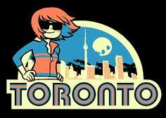 Reasons to visit Toronto: Kim Pine lives there. Scott Pilgrim Comic, Bryan Lee O Malley, Ramona Flowers, Vs The World, Cartoon Characters, Fictional Characters, Jojo Bizzare Adventure, Character Design References, Cultura Pop