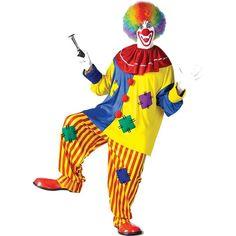Big Top Clown Men's Costume