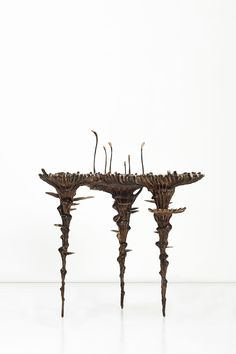 Extra Terrestrial Bronze 86 x 70 x 101 cm, surface height 75 cm Edition of 4 + 2 APs Kenyan Artists, Stained Table, Led Fixtures, Extra Terrestrial, Crystal Ball, Natural Wonders, Natural World, Water Features, Mombasa Kenya