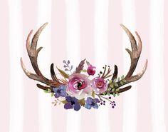 Deer Antlers Paintings (Page #5 of 28) | Fine Art America