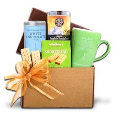Tea Latte Gift Basket