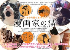 [MANGA] New book shows much Famous mangakas love their cats - http://www.afachan.asia/2015/11/manga-new-book-shows-much-famous-mangakas-love-their-cats/