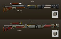 Like going for the long range? These high-powered sniper rifles for the Seraphim and Elohim units can get the job done -- and then some!
