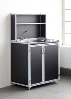 mobile schrank koffer k che in 9 mm birkensperrholz phenolharz beschichtet markt pinterest. Black Bedroom Furniture Sets. Home Design Ideas