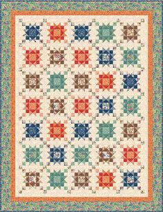 Fall Frolic Quilt Kit LQK15161
