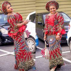 Skirt And Blouse Ankara Styles For The Ladies : Styles III - DeZango Fashion Zone