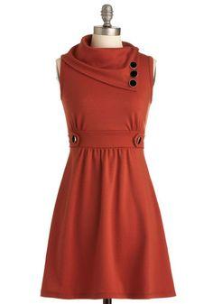 Coach Tour Dress in Tangerine, #ModCloth