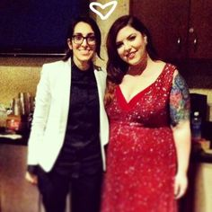 Shot of the Day: New Girlfriends Mary Lambert and Michelle Chamuel are Adorable Together She Keeps Me Warm, Mary Lambert, Girl Couple, New Girlfriend, Celebs, Celebrities, Woman Crush, New Day, Girl Power
