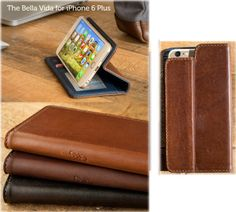 Your iPhone 6 Plus will live the Bella Vida in this folio wallet case