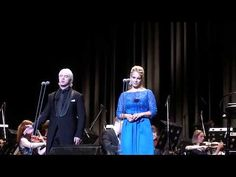 Хворостовский, Гаранча   Dmitri Hvorostovsky, Elīna Garanca Lippen schweigen St. Petersburg 2015 - YouTube