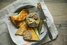 Fennel and Mushroom Paté with Grainy Mustard | Laura Wright, The First Mess via Food 52