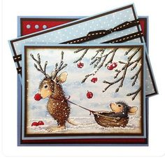 Stampendous Reindeer Games House Mouse cling stamp:  http://www.franticstamper.com/Stampendous-Cling-Mounted-Rubber-Stamps--House-Mouse-Designs--Reindeer-Games_p_96871.html