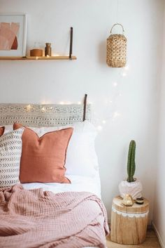 bedroom and cactus
