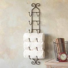 Small Bathroom Towel Storage Ideas towel rack bathroom storage idea, rolled towel rack for bathrooms