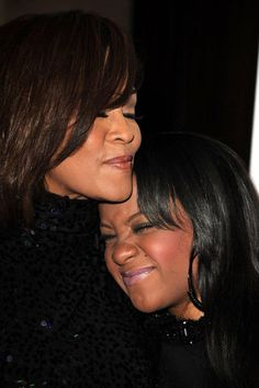 Whitney Houston & Bobbie Christina (who was 22 years old when she passed away in 2015)