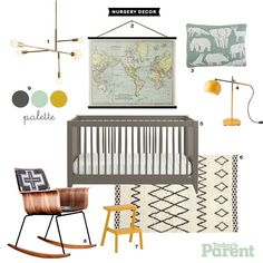 Our new Caravan Knit Pillow was recently featured in Todays Parent top suggestions for a gender-neutral nursery design.