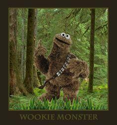 Wookie Monster. Yes.