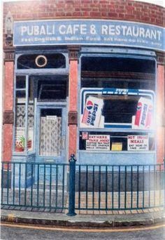Doreen Fletcher, A Retrospective Metal Shutters, New Statesman, Edward Hopper, Brick Building, Vulture, Built Environment, Book Of Life, East London, Pavement