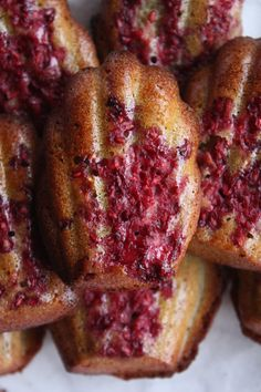 Financiers Matcha & Framboises - Gourmand par Nature