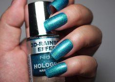 Nabi 3D Rainbow Effect Ocean Blue #Holo #holographic #nailpolish