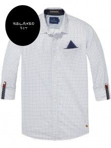 07e6219ea7bb Scotch Soda bílá košile - 2090 Kč Scotch Soda