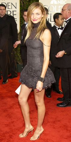 Cameron Diaz's 10 Best Red Carpet Looks Ever - Chanel Haute Couture, 2003 from #InStyle