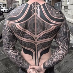 Tattoo by - maori tattoos Geometric Tattoo Meaning, Geometric Tattoos Men, Tribal Tattoos For Men, Small Tattoos For Guys, Black Tattoos, Geometric Shapes, Body Art Tattoos, Tattoo Ink, Leg Tattoos
