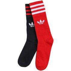 Adidas Originals Men S Adidas 6 Pack Original Trefoil Crew Socks