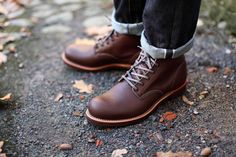 """Red Wing Heritage 6"""" Round Toe"""