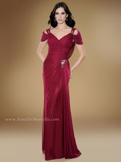 Take a look at this amazing mother of the bride dress by Rina Di Montella, style 1748 STRETCH ENGLISH NET GOWN W/SHAWL  Colors: MAGENTA, AMYETHYST, BERRY, CHOCOLATE, IVORY, NAVY, PURPLE, ROYAL Sizes: 4-28  http://rinadimontella.com/view.php?cat=mother-of-the-bride=1748
