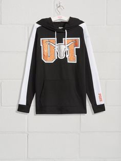 PINK University of Texas Bling Campus Tunic Pullover College Hoodies, College Apparel, Pink Nation, University Of Texas, College Outfits, Victoria Secret Pink, Tunic, Graphic Sweatshirt, Pullover