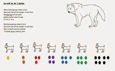 Thema: Wolf en de zeven geitjes in de tweede kleuterklas! | Sint-Albertschool Wolf, Conte, Worksheets, Education, School, Recipes, Short Stories, Baby Goats, Kids