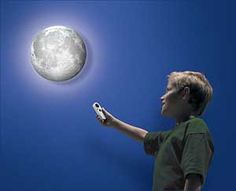 Enjoy a full moon every night and keep your bed room lit up with the Moon Wall Light. This bed room light has a built in sensor that activates the Moon's illumination when the room starts getting dark and makes a cool gift for a kid's room