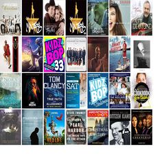 """Wednesday, December 7, 2016: The Kirkwood Public Library has 11 new bestsellers, 18 new videos, 15 new music CDs, 35 new children's books, and 67 other new books.   The new titles this week include """"A Pentatonix Christmas,"""" """"The Hamilton Mixtape,"""" and """"Christmas Together."""""""