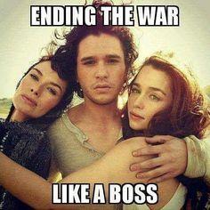 GoT season 8 spoiler =)) - Game of Thrones Funny Humor Meme