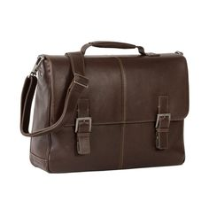 BOCONI Tyler Saddle Bag in Coffee Leather #carryboconi #messenger