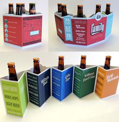 Chained Polyhedral six Packs #beer #packaging #cerveza