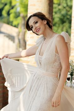 wonderful dress   Dana Rogoz Girls Dresses, Flower Girl Dresses, One Shoulder Wedding Dress, Style Inspiration, Stars, Wedding Dresses, Celebrities, Beautiful, Fashion
