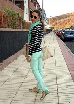 12 Ideas De Color Verde Agua Outfits Moda Ropa