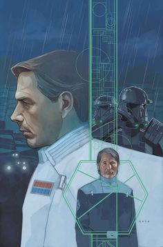 'Rogue One: A Star Wars Story' - Comic Adaptation - Issue - Cover by Phil Noto Entertainment Weekly, Marvel Entertainment, Star Wars Books, Star Wars Art, Galen Erso, Phil Noto, Avengers, Star Wars Comics, Tumblr