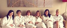 """Happy clients xxx Who doesn't love a girly spa day?? """"Fab day at Rainforest Spa, so relaxing and lovely staff. Highly recommended."""" - Emily Hannon"""