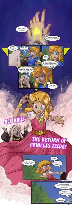 Second Quest comic by tran4of3 | #Zelda #WiiU